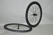 fixed gear bicycle wheelset spoke 700C carbonfiber bike wheels