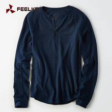 OEM young man bulk wholesale long sleeve for men t shirts