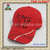 Appliqued and washed baseball cap and sport hat