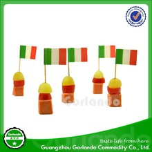 promotional party food country food flag picker