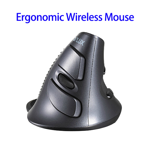 1600DPI 2.4Ghz Wireless Vertical Mouse for Laptop, Slim Optical Gaming Mouse Wholesale