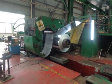 Coiling (Hot-dipped Galvanized Coil)