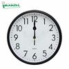 WCRD26801 radio control round shape sweep wall clock