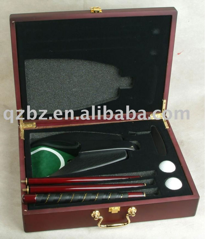 deluxe golf gifts with wooden box