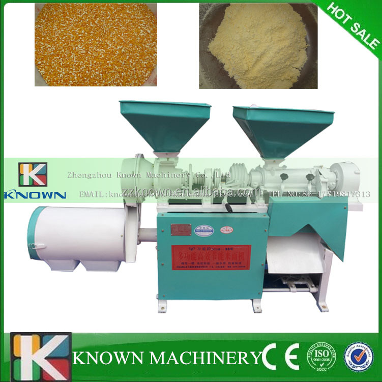 Multi-function commercial corn grits mill grinder machine with fast delivery