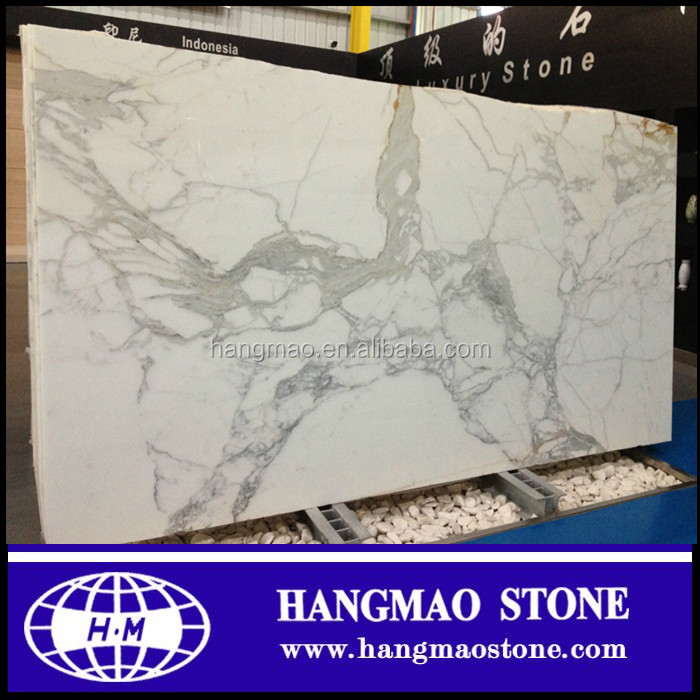 Hot Sale Top quality Italy Snow White Marble , Statuario Venato marble