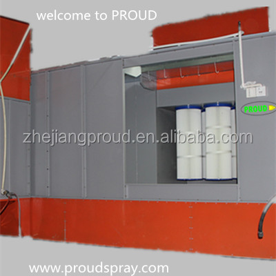 Powder Coating Spray Booth/Chamber