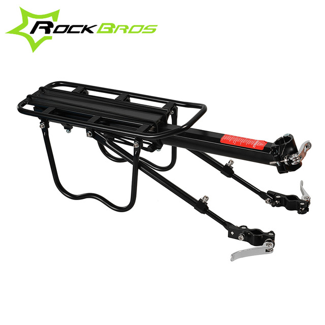ROCKBROS Wholly Quick Release Wholesale Bike Bicycle Travelling Luggage Carrier Aluminum Rear Rack