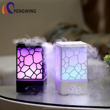200ml Water Cube Mini Usb Ultrasonic Essential Oil Aroma Diffuser With LED Changing Light