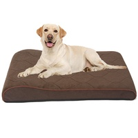 Comfortable Pet Cushion Large Dog Mattress Memory Foam Dog Bed with Removable Cover