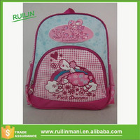 Loverly School Girl Bags Set Made In China Factory