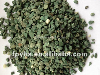 beautiful polished seagreen color gravels