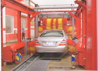 Efficient tunnel water recycle car wash machine with high quality