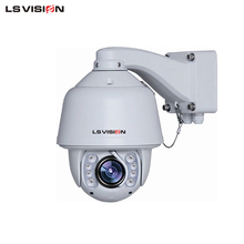 LS VISION 2mp 1080p IP 20x outdoor night vision onvif ptz camera wiper