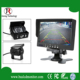 Quad Camera In Car and Bus Systems with 7 inch LCD Monitor