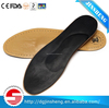 Orthotic arch support Insole made of latex, genuine leather and poron
