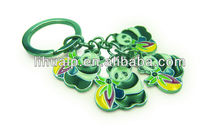 Hot selling!Metal plates/kering keychain promotional gift