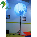 Inflatable Standing Balloon With Pole Led Lighting inflatable Lamp balloon For Promotion