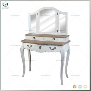 Classic White Shabby chic Wooden French Dressing Table