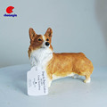 Resin Dog Figure Toy , Polyresin Dog Statue