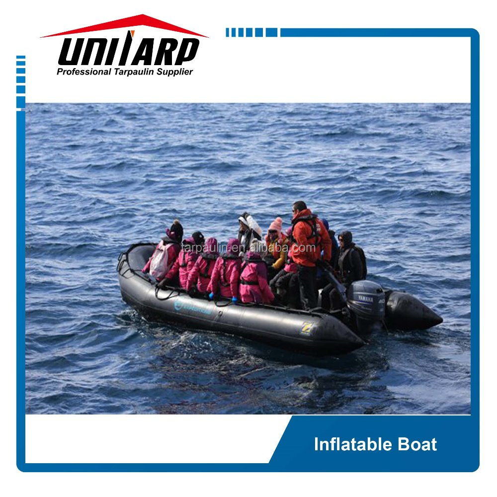 China Manufacture pvc coated tarpaulin fabric for inflatable boat