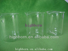 Clear Quartz glass Beaker without Graduation