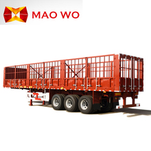 2017 Maowo Light Stake Fence Cargo Trailer for fruit and vegetable transport