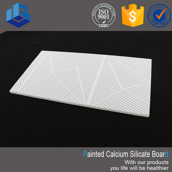 Embossed Ceiling Tiles Paint Calcium Silicate Board Price