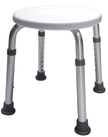 Adjustable Round bath chairs stool bench
