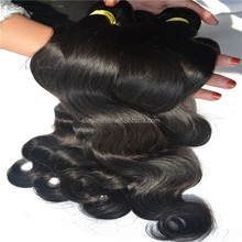 Brazilian body wave 3 bundles with lace closure 8A grade brazilian hair bundles