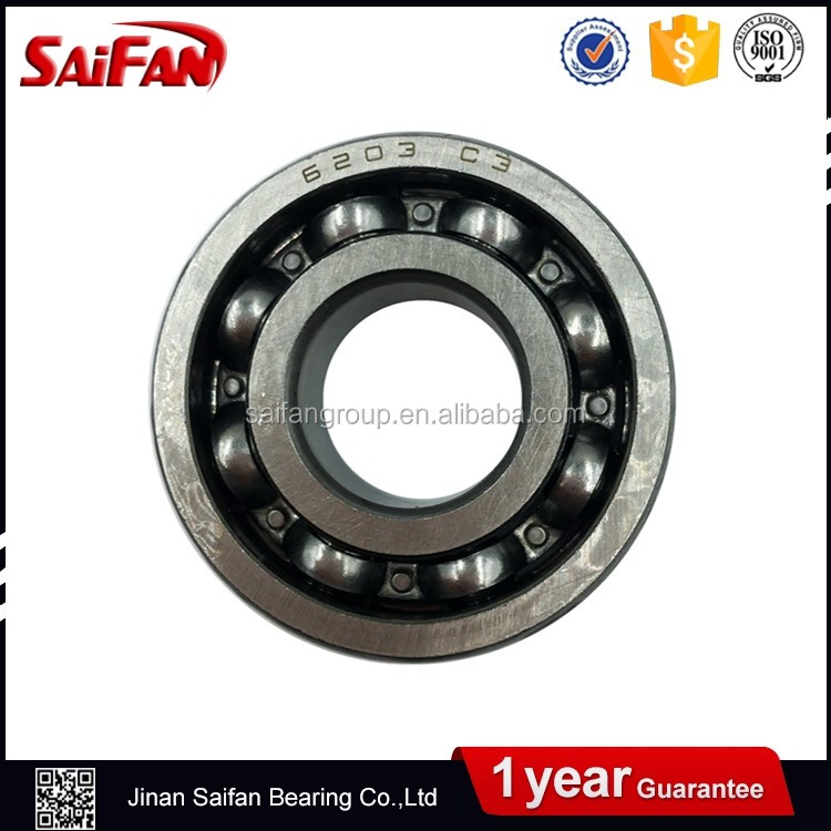China Supplier Ball Bearing sk 6202 du SAIFAN Deep Groove Ball Bearing 6202 Sizes 15*35*11mm