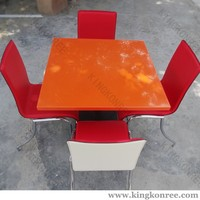 2016 kitchen table and chairs with red chairs