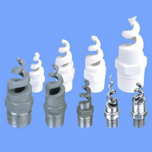 MMS Silicon carbide spiral jet spray nozzles