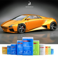 Auto Refinish Orange Crystal Pearl Color Car Spray Paint