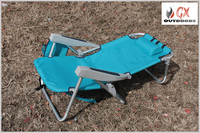 Hot selling camping folding beach chaise lounge chairs