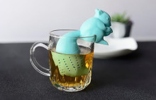Factory Low Price eco-friendly tea infuser silicone with OEM design