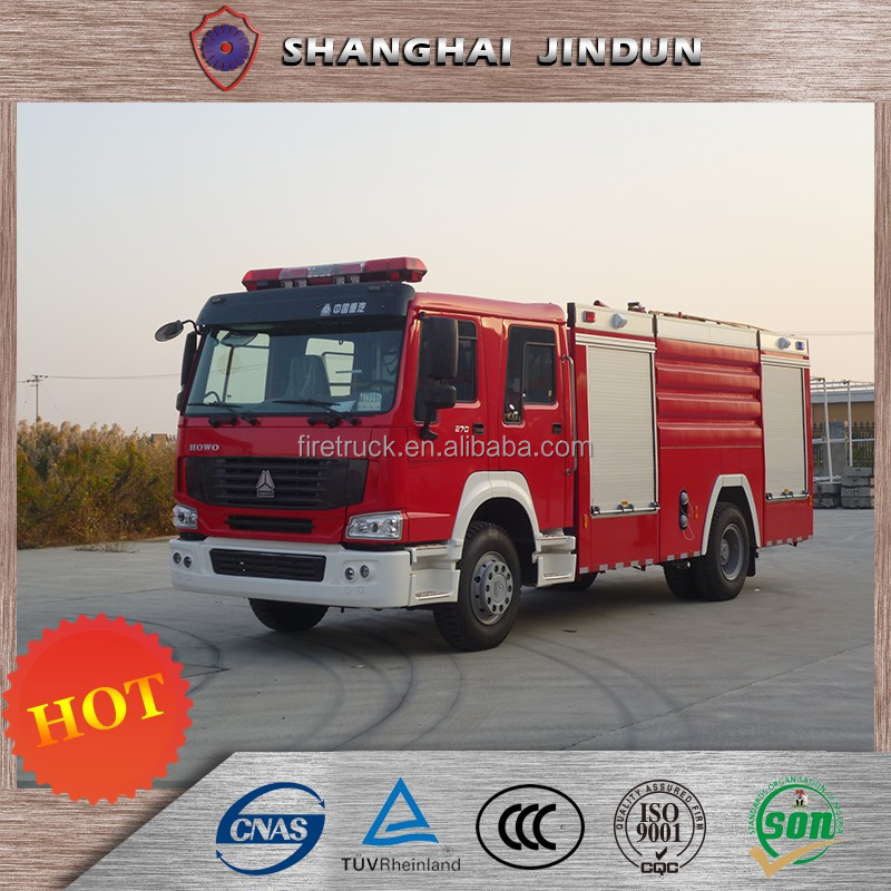 New Patented Products 8 Ton Water Foam Fire Fighting Truck