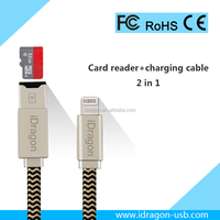 card reader for apple iphone 4 usb 3.0 otg cable charging for iPad