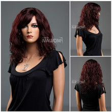 W3420 fashion Cosplay costume wigs long curly wigs ladies hair wig