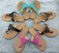 Wholesale Custom Fashion Personalized Monogrammed Beach Sandals