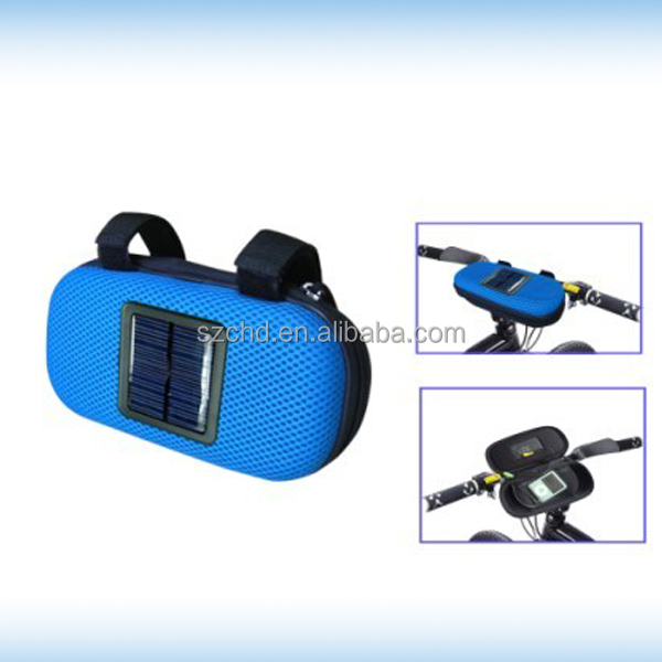 Solar Bicycle Portable Speaker Marvelous Design For Mobile Phone