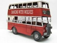 Hand Make Vintage Model Car - London Bus Model