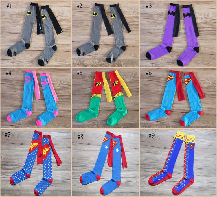 Women Knee Thigh high Handmade Sports Happy Socks