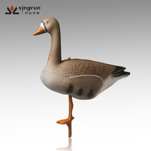Wholesale Fullbody Inflatable XPE Foam White-fronted/Speckbelly Goose Decoys Hunting Decoys