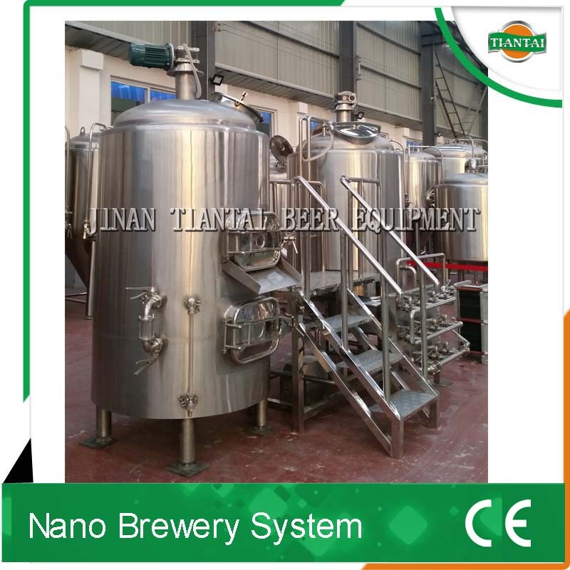 beer brewing system 500l per batch for European pubs
