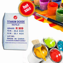 rutile lithium titanium R909 oxide paint white inks colorful coating pigment makng