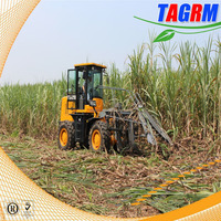 China new combine mini sugarcane harvester price/cane harvesting equipment/SH15 cane harvester