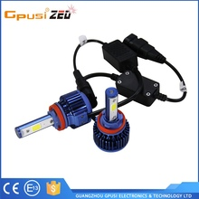 Gpusi Led Car Headlight Kit H4 9004 9007 H13 For Auto LED Lamp Head Light China Manufacturer