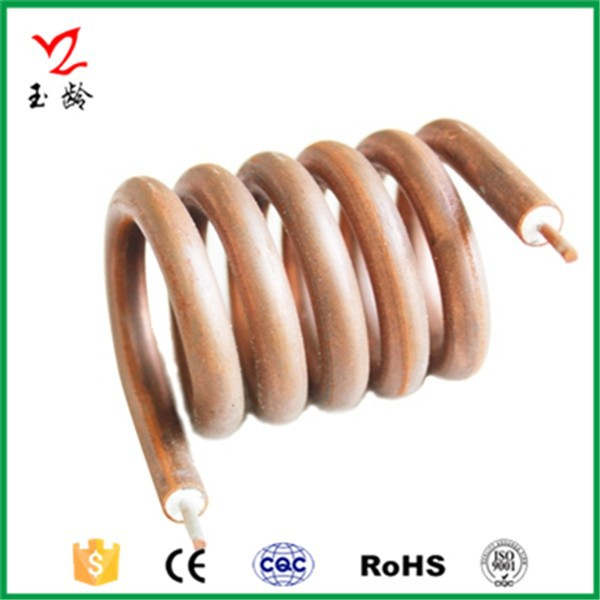 Taizhou Yuling Water Heater Copper Tube Coil Heating Element