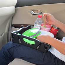 Multi Function Foldable Kids Car Tray Laptop Holder Car Seat Travel Tray